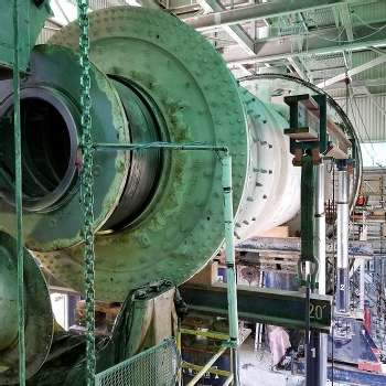 GRINDING MILL TRUNNION REPAIR